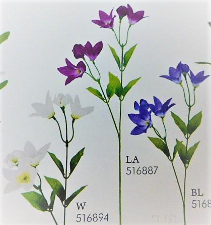 1本¥138造花(キキョウスプレイ・単色36本入り)2767