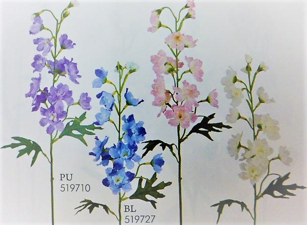 卸販売造花(デルフィニューム・単色36本入り)2959