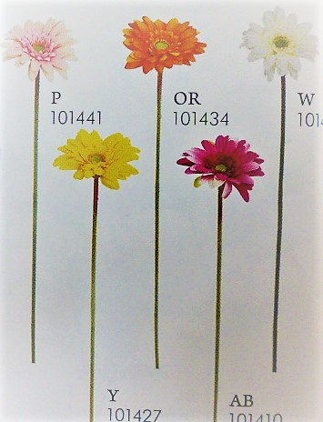 卸販売造花(ミニガーベラ・単色36本入り)164