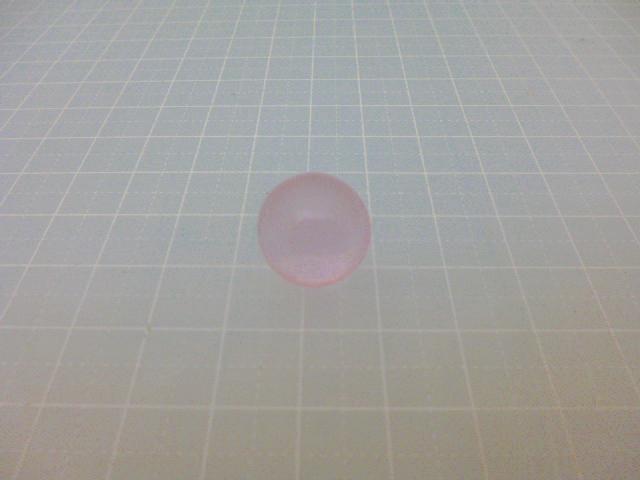 ビー玉・ガラス玉クリアカラー(ピンク)15mm