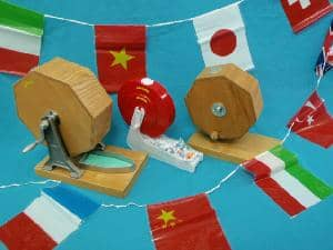 国内製木製抽選器・プラスチック製のガラガラ抽選器