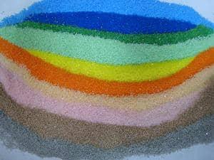 カラーサンド・色砂