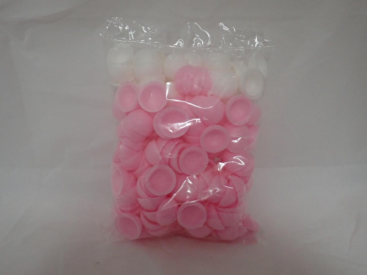 餅花・餅玉自然素材(小玉3cmピンク白セット・100丸分)