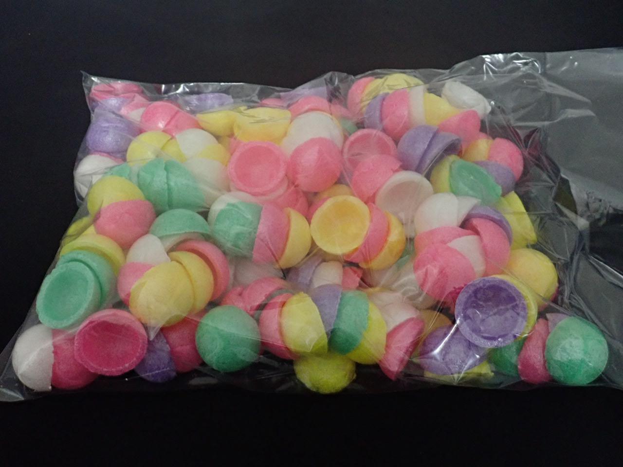 餅花・餅玉・自然素材(小玉3cm五色100丸分) 和食器代わりにも使用可