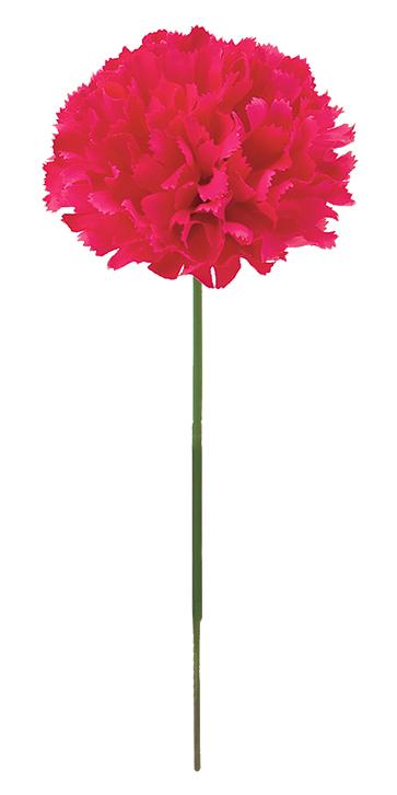 花の日造花カーネーション(ピック24本・ビューティー)花径7全長20cmFLP6019
