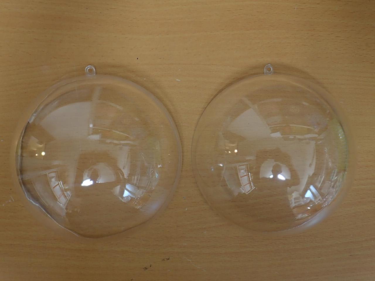 ケース型14.5cm透明ボール・カップ(プラスチック製)OXM1396LL