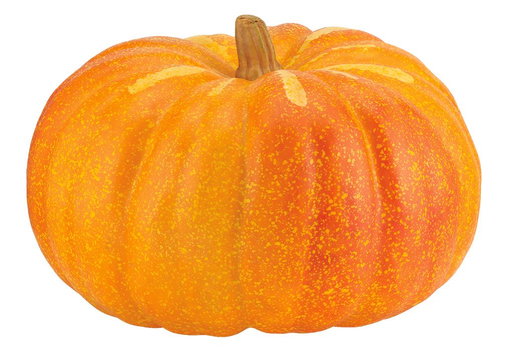 かぼちゃ・ハロウィンパンプキン(メガパンプキン46cm・スチロール製)VF1254