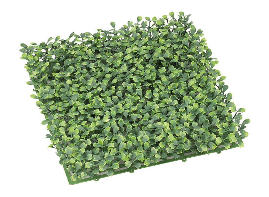難燃性造花(ボックスウッドガーデンマット26cm角)LEE7083