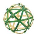正月飾り(竹毬・10cm)ND1055SS