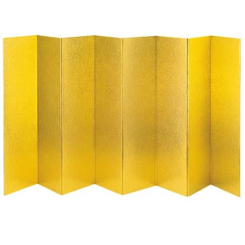 金屏風全長160cm・発泡ポリエチレン製「コンビニ後払い」PADP7380