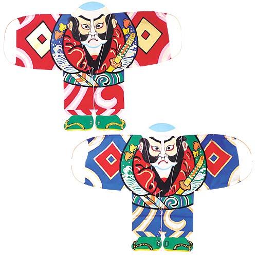 手すき和紙凧セット(奴凧2枚セット全長60cm)DIKI8867