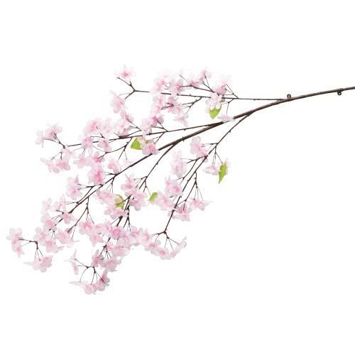卸販売造花桜(新桜大枝・全長110cm花径4,5cm・2本入り)FLSP1946他商品同送不可