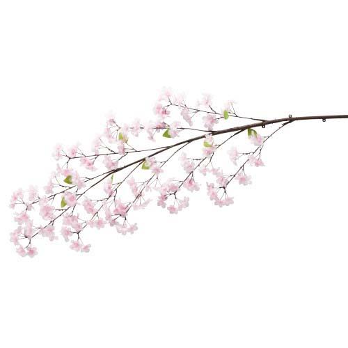 卸販売造花桜(新桜大枝・全長140cm花径4,5cm・2本)FLSP1948他商品同送不可