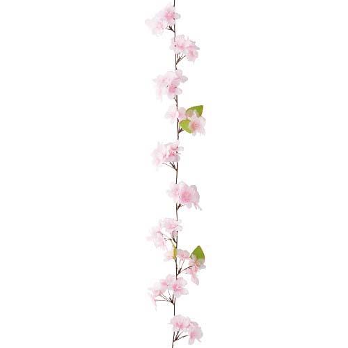 卸販売造花桜(新桜ガーランドつた・全長180cm花径5cm・3本入り)FLGA1716他商品同送不可