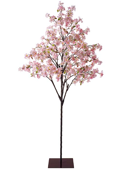 卸販売造花桜(桜ツリースタンド付き全長210cm花径6cm)FLTR1251他商品同送不可
