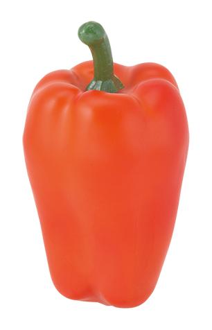 野菜ディスプレイ(90mmピーマン・オレンジ3ヶ入り・スチロール製)VF1264