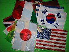 ビニール万国旗 20ヶ国