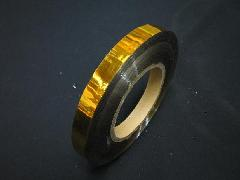 イベント用メッキテープ   1,5cm幅200M巻き粘着なし(金色)
