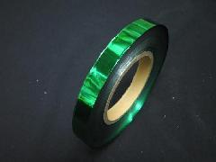イベント用メッキテープ 1,5cm幅200M巻き粘着なし(緑色)