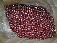 オーロラビー玉17mmΦ(レッド)大箱4000粒入り