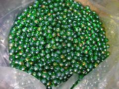 オーロラビー玉17mmΦ(グリーン)大箱4000粒入り