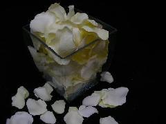 造花のフラワーシャワー・バラの花びら・ローズペダル(ライトイエロー)[コンビニ後払いの場合有り]