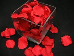 造花のフラワーシャワー・バラの花びら(ワインレッド)[コンビニ後払いの場合有り]