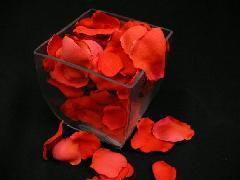 造花のフラワーシャワー・バラの花びら・ローズペダル(レッド)[コンビニ後払いの場合有り]