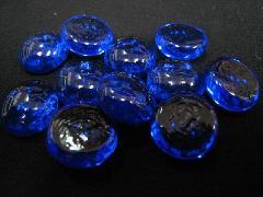 グラスタブレット(コバルト)約15mmΦ・100粒