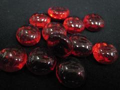 グラスタブレット(レッド)約15mmΦ・100粒