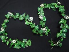 箱単位造花つたミニポトスガーランド(グリーン)・6本LEG0122コンビニ後払い]