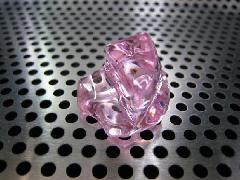 バラ売り「アクリルアイス・透明石」(M・代品ピンク)