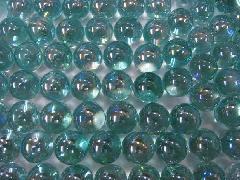 オーロラビー玉17mmΦ(エメラルドグリーン)大箱4000粒入り