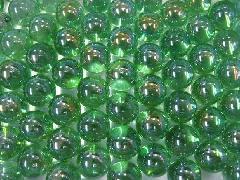 オーロラビー玉17mmΦ(ライトグリーン)大箱4000粒入り