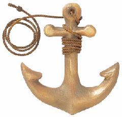 海飾り(イカリ35cm・強化ペーパー製)コンビニ後払い