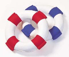 海飾り(浮き輪(S)45cm・強化ペーパー製)コンビニ後払い