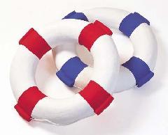 海飾り(浮き輪(L)66cm・強化ペーパー製)コンビニ後払い