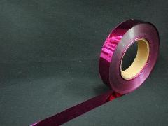 イベント用メッキテープ   2,5cm幅200M巻き粘着なし(ピンク色)