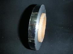 メッキテープシルバー200M巻(1.5cm幅・粘着なし・両面同色)