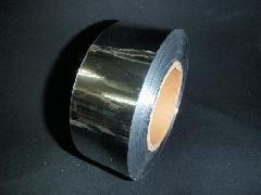 メッキテープシルバー200M巻(5cm幅・粘着なし・両面同色)