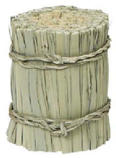 わら束直径6・高さ7.5cm・自然素材PANA8555