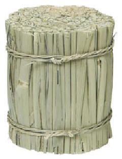 わら束直径8・高さ9.5cm・自然素材PANA8556