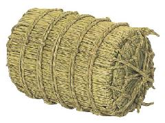 正月飾り・化粧俵(小)直径24・長さ41cm・自然素材ND0318S
