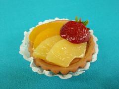 食品サンプルデザート(80mmフルーツタルト)DICA7004