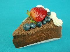 食品サンプルデザート(100mmチョコレートケーキ)DICA7009
