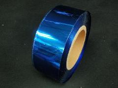 イベント用メッキテープ5cm幅200M巻き粘着なし(紺色)