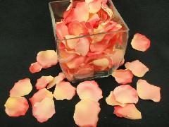 造花のフラワーシャワー・バラの花びら・ローズペダル(サーモン)[コンビニ後払いの場合有り]