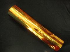 メッキシート原反(ゴールド)0.05mm×635mm×200M