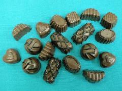 食品サンプルデザート(40mmチョコレート18個セット)DICA7007