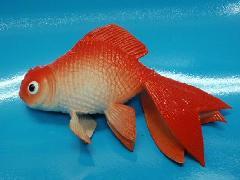 魚ディスプレイ(金魚・12cm)ゴム製